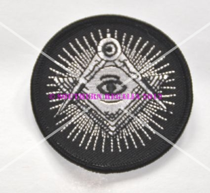 Square & Compasses - All Seeing Eye patch