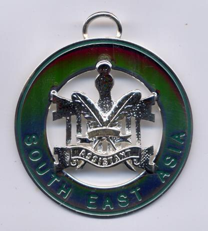 Allied Masonic Degree - District Grand Officers Collarette Jewel (Active)