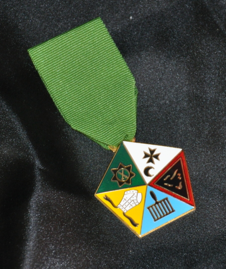 Allied Masonic Degree - Composite Breast Jewel