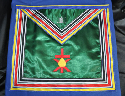 Allied Masonic Degrees - Members Apron (Cornwall District)
