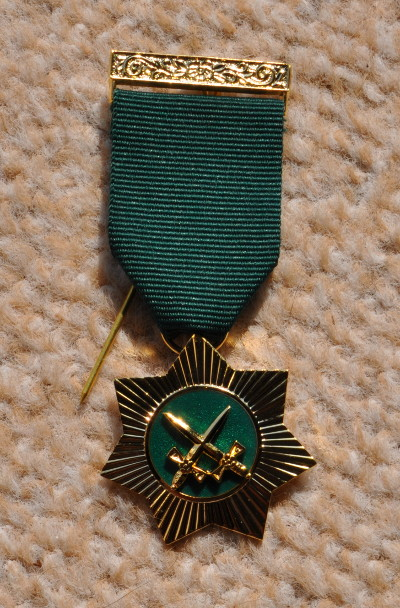 Allied Masonic Degrees Red Cross of Babylon Breast Jewel