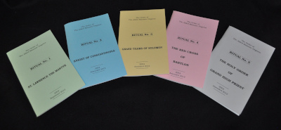 Allied - Set of 5 Rituals of the Order