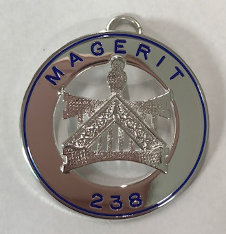 Allied Masonic Degree - Worshipful Masters Collarette Jewel