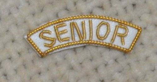 "Provincial Apron Badge Appendage - DRESS - ""SENIOR"""