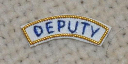 "Grand Officers Apron Appendage - UNDRESS - ""DEPUTY"""