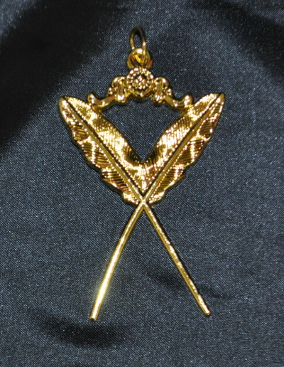 Order of Athelstan Provincial Collar Jewel - Secretary (Active)