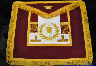 Order of Athelstan Grand Officers Hand Embroidered Apron