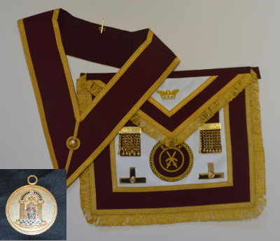 Order of Athelstan Provincial Apron & Badge with Collar & Jewel set