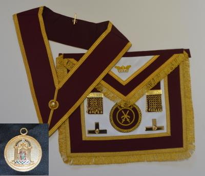 Order of Athelstan Provincial Apron & Badge with Collar & Jewel set