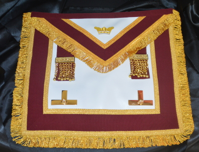 Order of Athelstan Provincial Apron & Badge - Leather