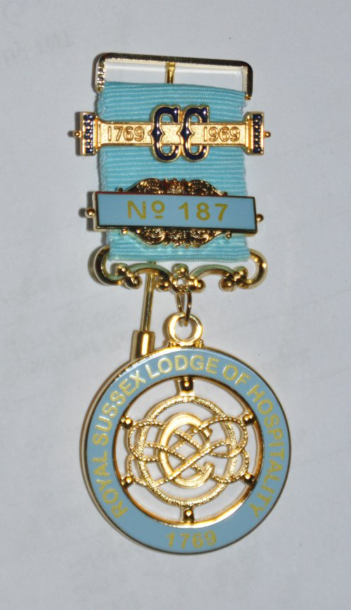 Craft Lodge Centenary / Bi-Centenary Breast Jewel (30-39 items)
