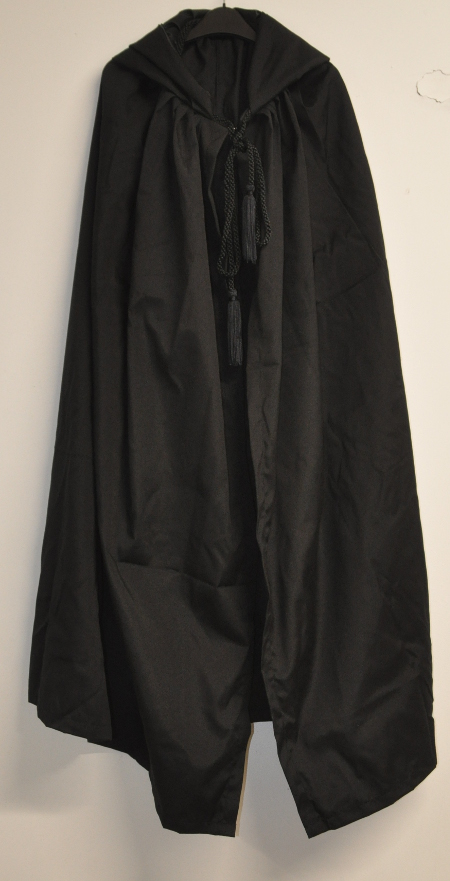 Co-Masons Plain Black Mantle