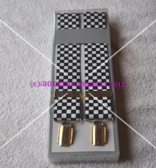 Braces - Chequered / Checkered