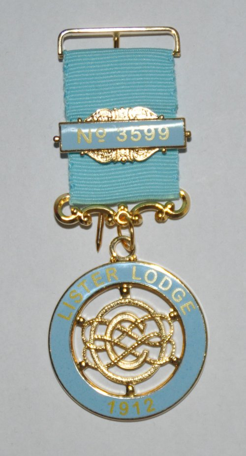 Craft Lodge Centenary / Bi-Centenary Breast Jewel (40-49 items)