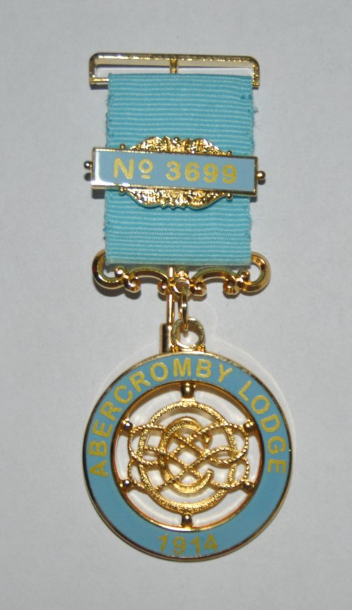 Craft Lodge Centenary / Bi-Centenary Breast Jewel (50-59 items)