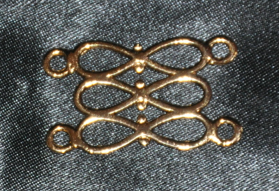 Craft Chain Metalwork - 3 Bows - gilt