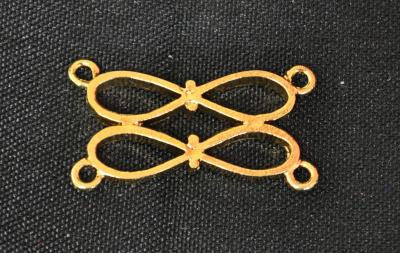 Craft Chain Metalwork - 2 Bows - gilt