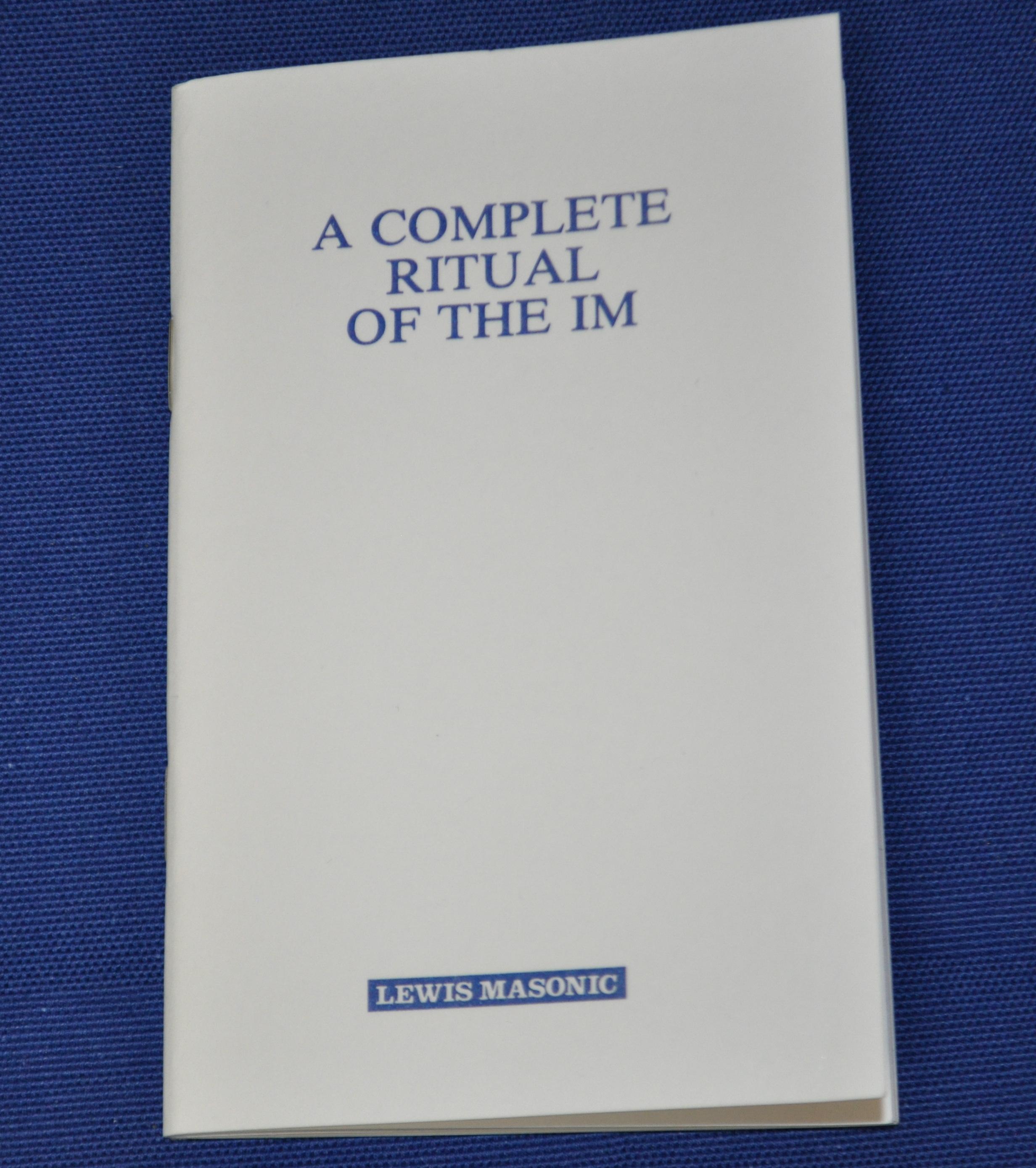 Craft Rituals / Books : Southern Regalia, Masonic Regalia