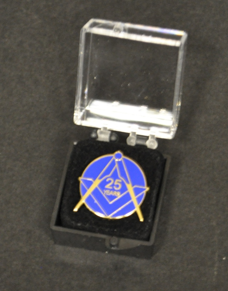 Craft 25 year Lapel Pin
