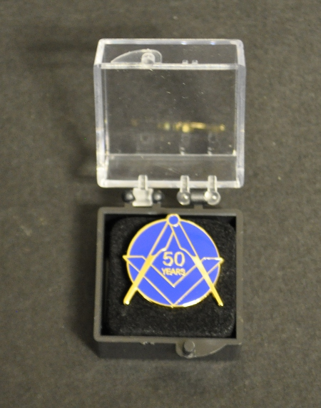Craft 50 year Lapel Pin