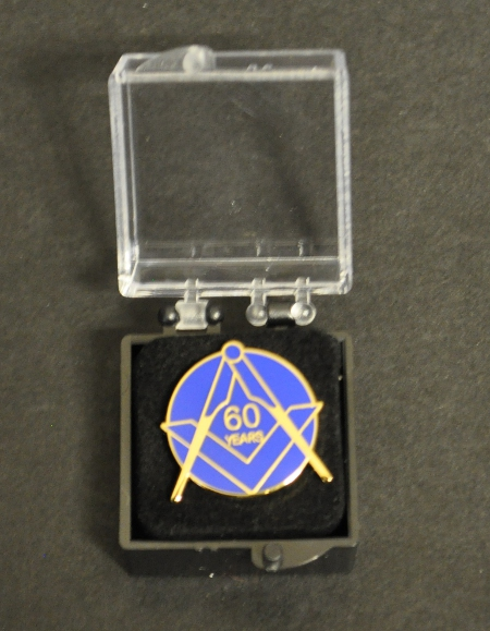 Craft 60 year Lapel Pin