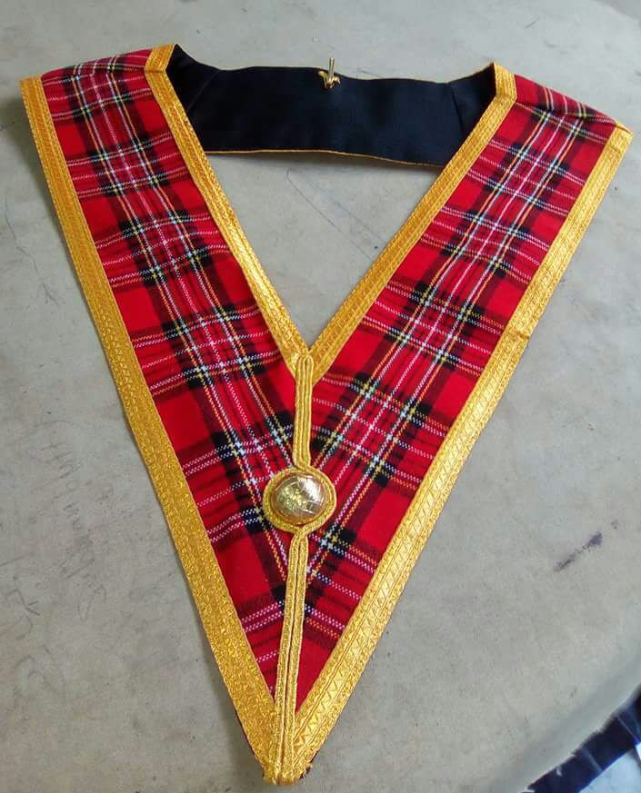 Craft Lodge Collar - Scottish