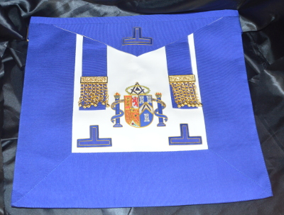 Grand Officers Undress Embroidered Apron - Spain / Espana