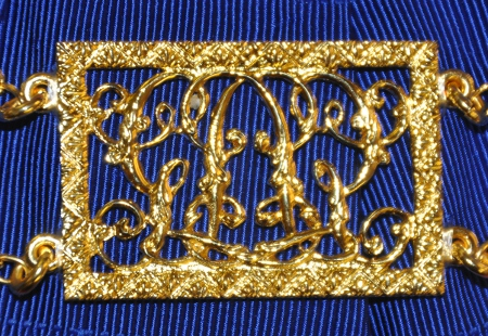 Craft Chain Metalwork - Grand Officers Monogram