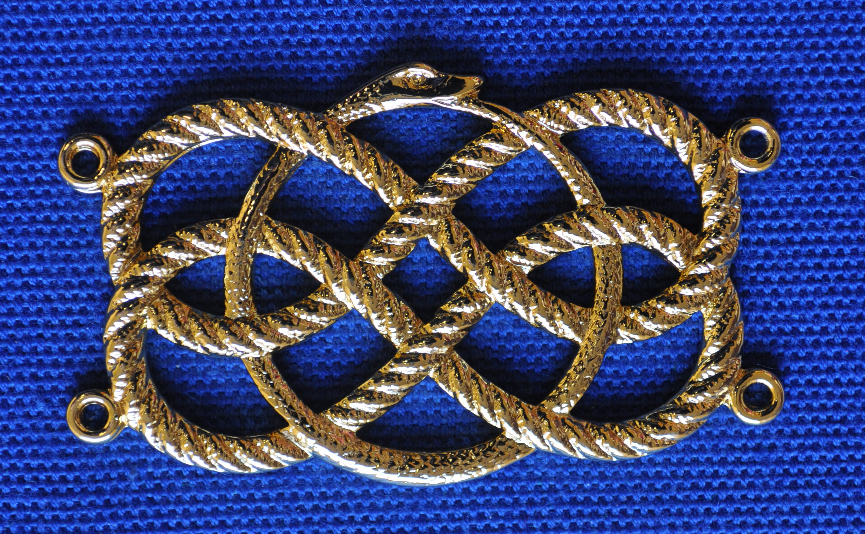 Craft Chain Metalwork - Snake & Ropes - Gilt