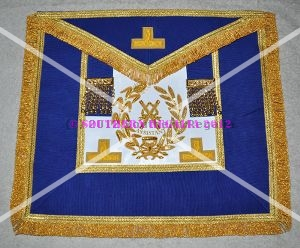 Grand Officers Full Dress Embroidered Apron