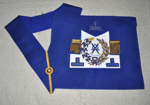 Grand Officers Undress Embroidered Apron & Collar