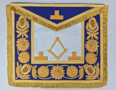Grand Officers Full Dress Embroidered Apron - Assistant Grand Master