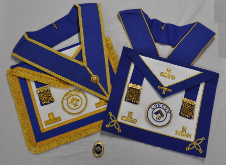 *** LONDON GRAND RANK - Full and Undress Regalia with Bag ***