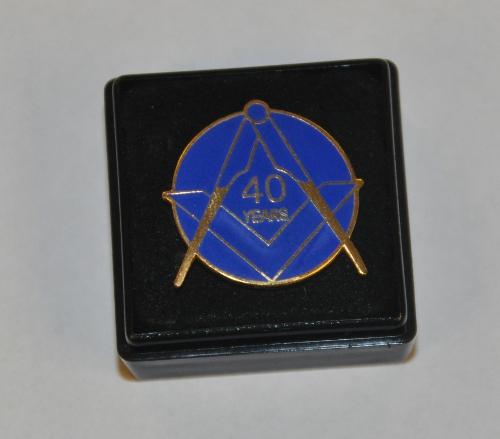 Craft 40 year Lapel Pin