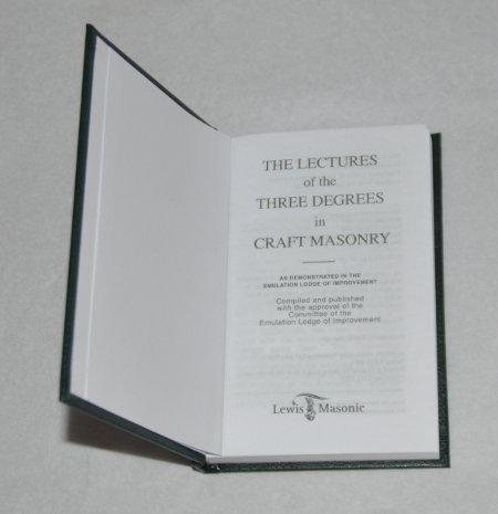 Craft rituals books southern regalia masonic regalia for Masonic craft ritual book