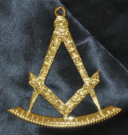 Craft Lodge Officers Collar Jewel - I.P.M. (Scottish) - Gilt