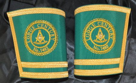 Craft Lodge Officers Gauntlets - Scottish