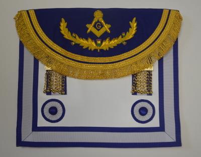 b037abdfd2 Craft Master Masons Apron - double border - Scottish