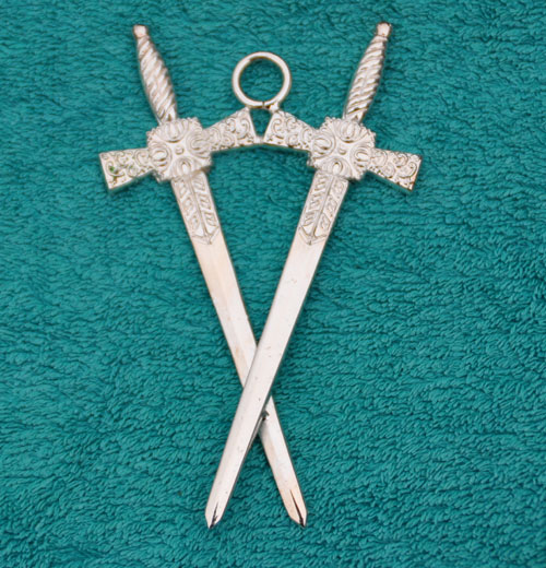 Craft Lodge Officers Collar Jewel - Inner Guard