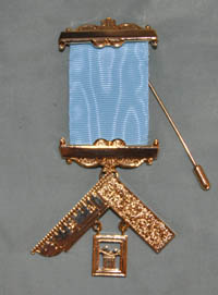 Craft Past Masters Breast Jewel - Gilt - Blank Bars