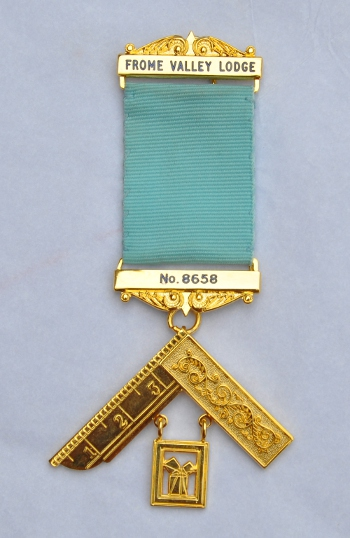 Craft Past Masters Breast Jewel - Enamel Lettering