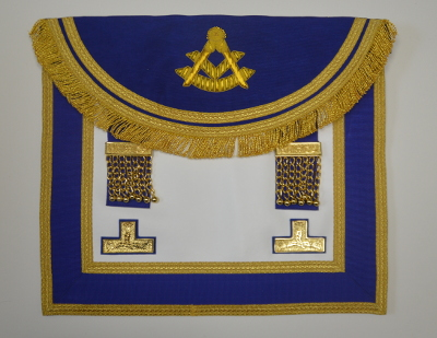Craft Past Masters Apron - Royal Blue