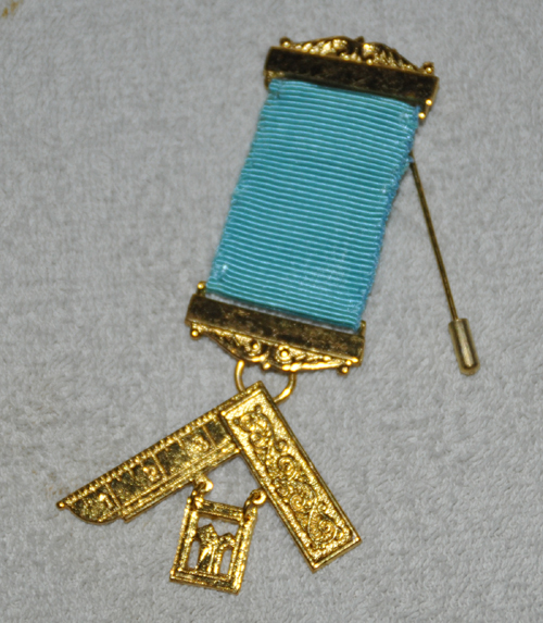 Craft Past Masters Breast Jewel - Gilt Blank Bars