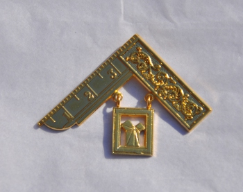 Craft Past Masters Breast Jewel - Square & Proposition [i] (Gilt)