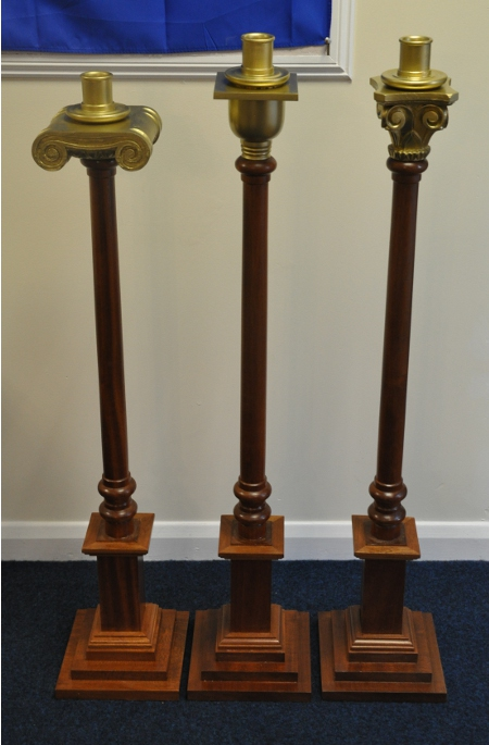 Pedestal Candle Stands (Large)