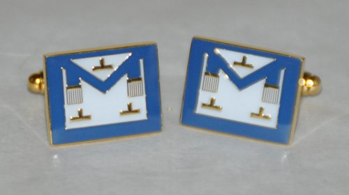 Craft Provincial or District Gold Plated Apron Cufflinks