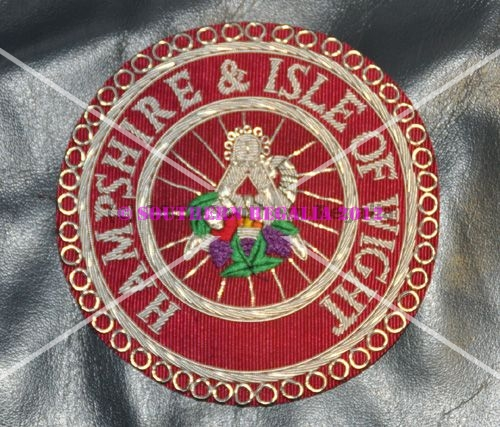 Craft Provincial Stewards Hand Embroidered Apron Badge