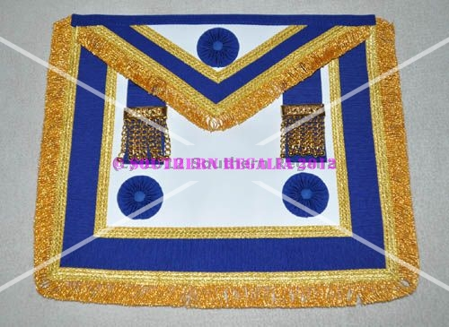 Provincial Full Dress Apron & Badge & Collar [Rosettes]