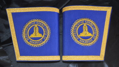 Craft Provincial / District Gauntlets with Badges [Pair] - Irish