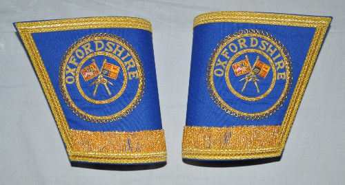 Provincial / District Gauntlets with Badges [Pair]